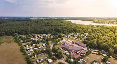 Eurocamp-Spreewaldtor-Camping-Luftbild